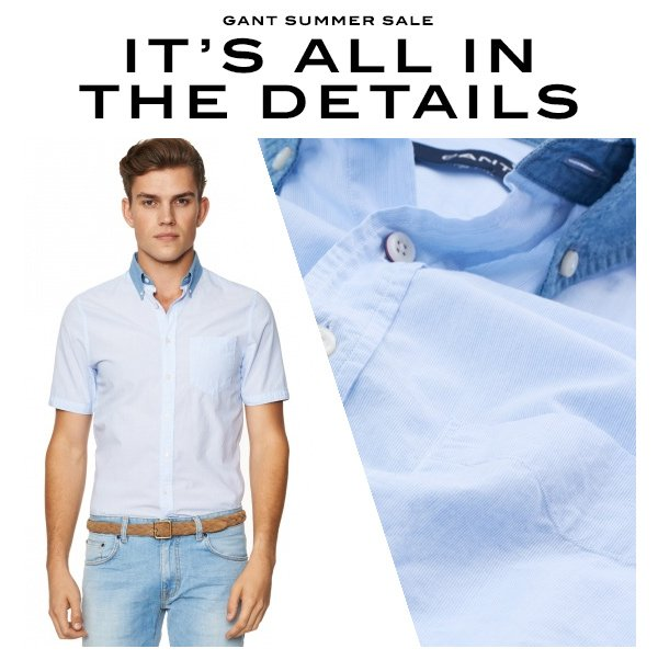 super quality thoughts on online retailer Gant: Take a closer look at our shirts in the GANT Summer ...