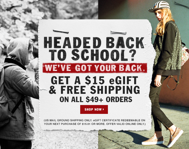 vans back to school