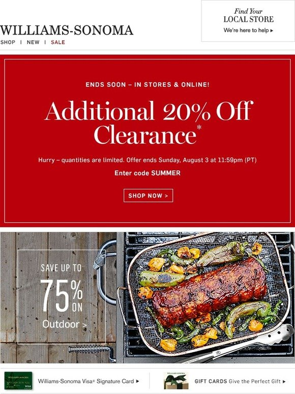 photograph relating to Williams Sonoma Coupons Printable known as William sonoma coupon codes 20 off : Coupon attractive kitty