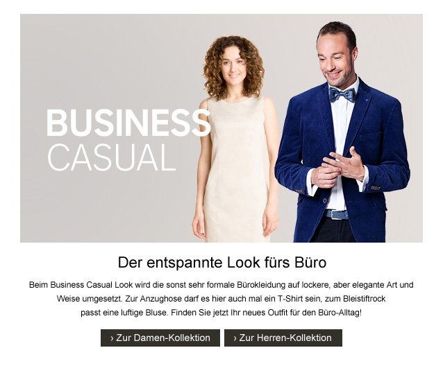 C A Business Casual Der Entspannte Look Furs Buro Milled