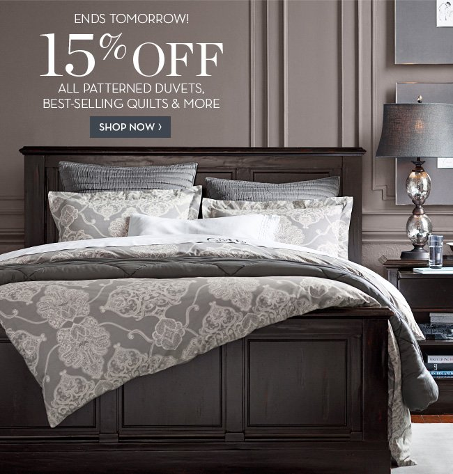 Pottery Barn: LAST CHANCE - Bedding Sale & Decorating Event! Plus ...