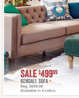 Kendall Sofa   $499.99 ...