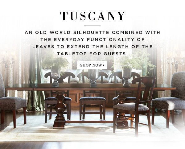 Shop Tuscany Extension Dining Table