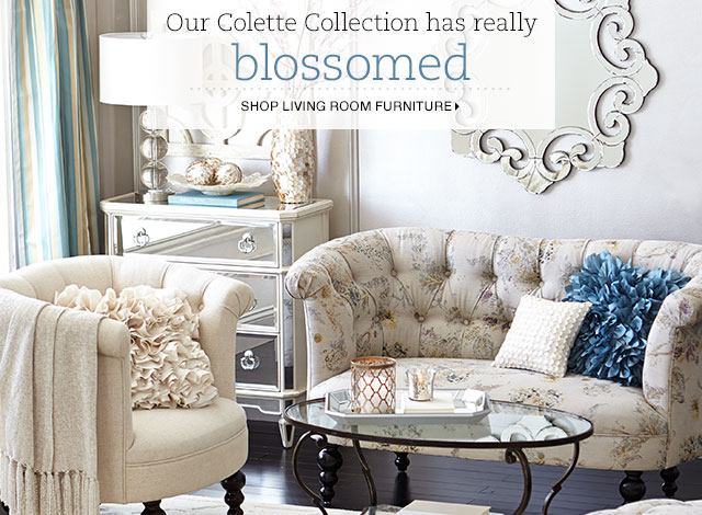 Pier 1 Bonjour Have You Met Our Colette Collection Milled