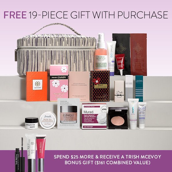 Nordstrom: Free 19-Piece Beauty Gift with Purchase, a $117 Value ...