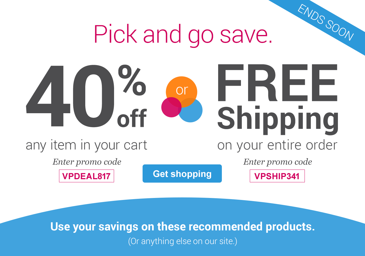 Check out Vistaprint promo codes & don't miss out on amazing savings opportunities. Vistaprint coupons & offers are updated regularly to provide you with the best deals – from seasonal savings to exclusive sales on our most popular products. With Vistaprint you'll find the best deals for your business!