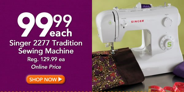 JoAnn Fabric And Craft Store All Singer Sewing Machines On Sale Magnificent Joann Fabrics Singer Sewing Machines