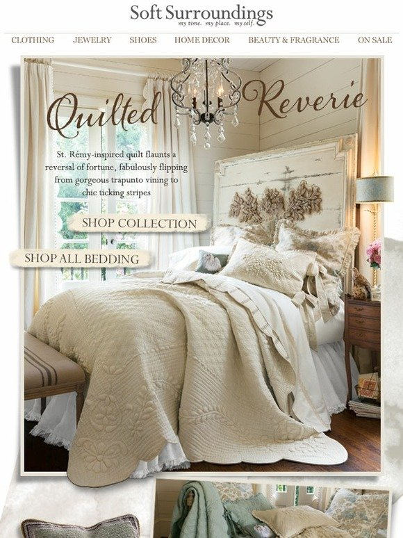 Soft Surroundings Authentic Antique Inspired The French