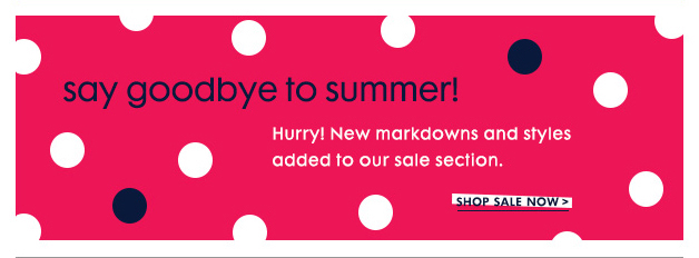 with savings on new looks and evergreen essentials.
