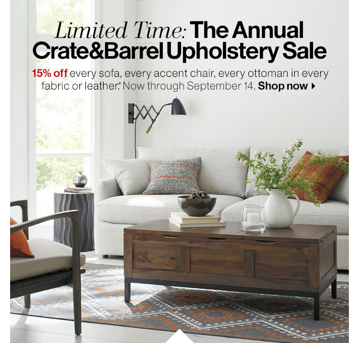 Crate And Barrel 5 Reasons To Buy A Crate And Barrel Sofa Milled