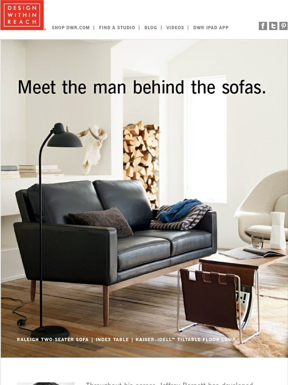 Design Within Reach: One Designer, Three Sofa Collections | Milled