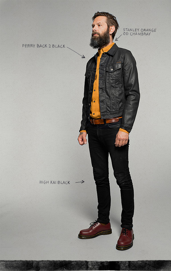 Nudie Jeans Co One Style Focus Milled