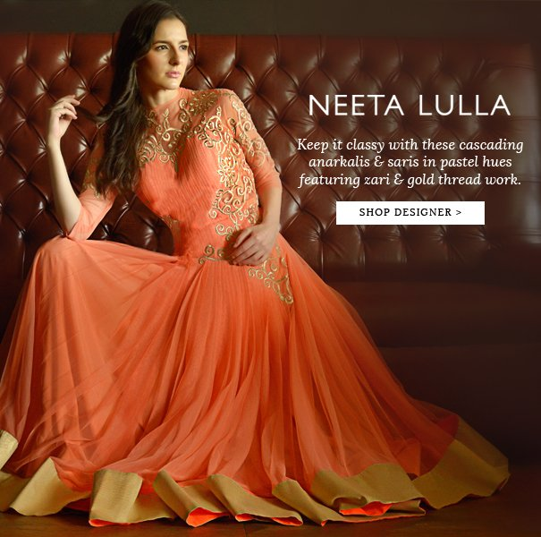 Exclusively.in: Exclusive: New Arrivals by Neeta Lulla + 15% Off ...