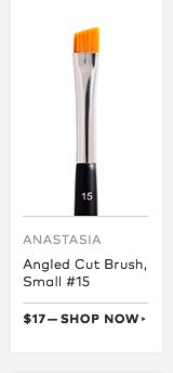 Anastasia Angled Cut Brush, Small #15, $17