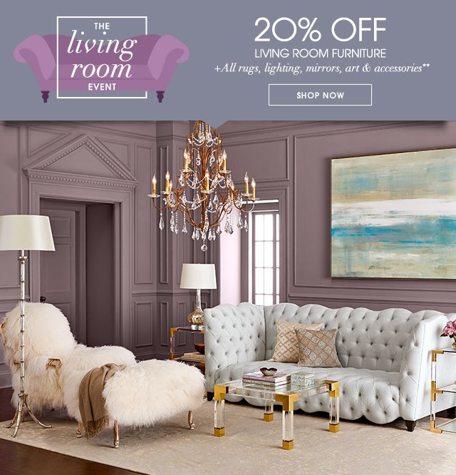 Horchow Free Shipping Sitewide 20 Off Furniture More For Your Living Room Milled