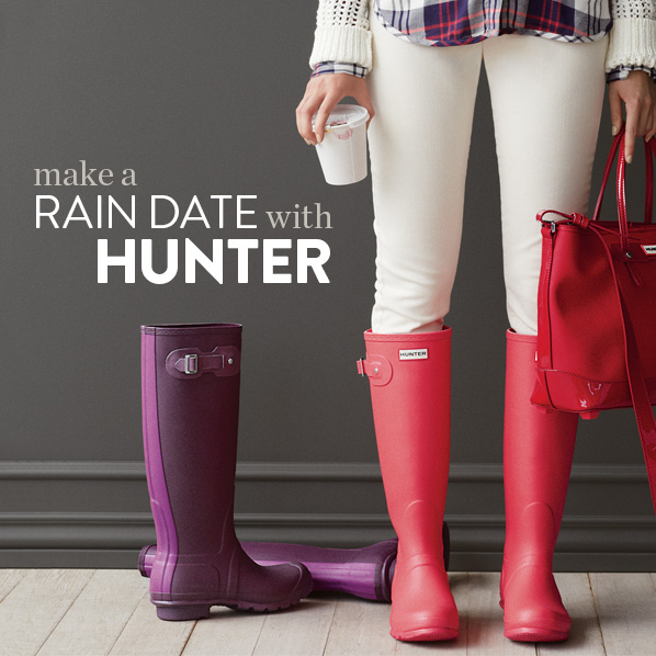 Nordstrom: Hunter Rain Boots Welcome