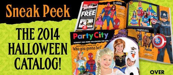 sneak peak the 2014 halloween catalog - Halloween Party City