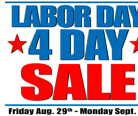 harbor freight don 39 t forget labor day weekend sale 20 off free gifts ends monday 9 1. Black Bedroom Furniture Sets. Home Design Ideas