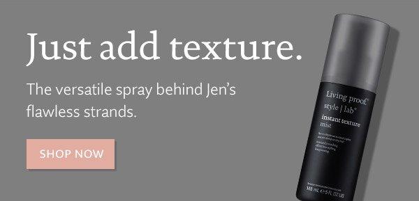 New: Instant Texture Mist