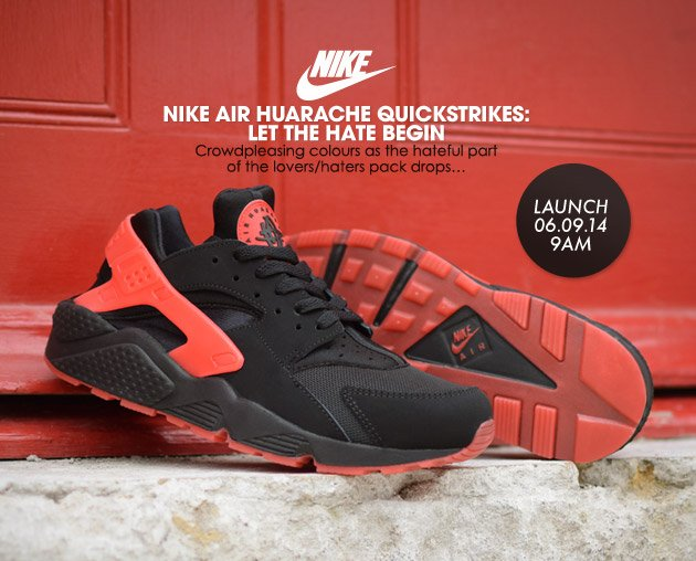 d64f70ea7e1 Crooked Tongues  Nike Air Huaraches for the Haters