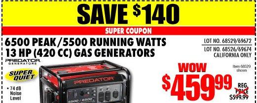 Predator generator coupons - 2018 subaru forester deals