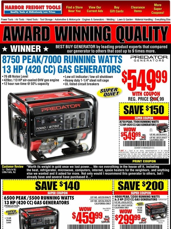 Air Compressor Reviews #1 – California Air Tools C Gallon Compressor Even though brands such as Makita, Craftsman, and DeWalt get all the attention, California Air Tools makes some of the best home garage air compressors in the business.