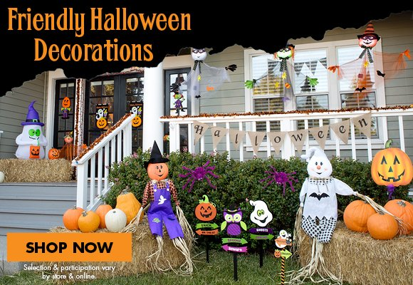 party city friendly halloween dcor for outdoor more milled - Friendly Halloween Decorations