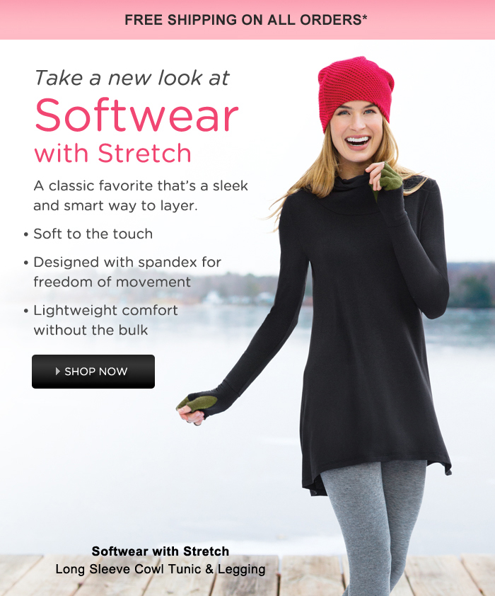 softwear with stretch