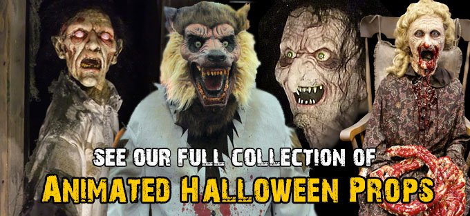 The Horror Dome: 2014 Animated Halloween Props Collection from