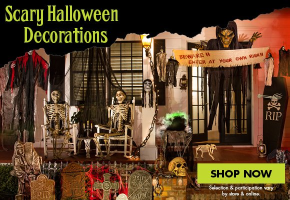party city scary dcor starting at 99 milled - Party City Halloween Decorations