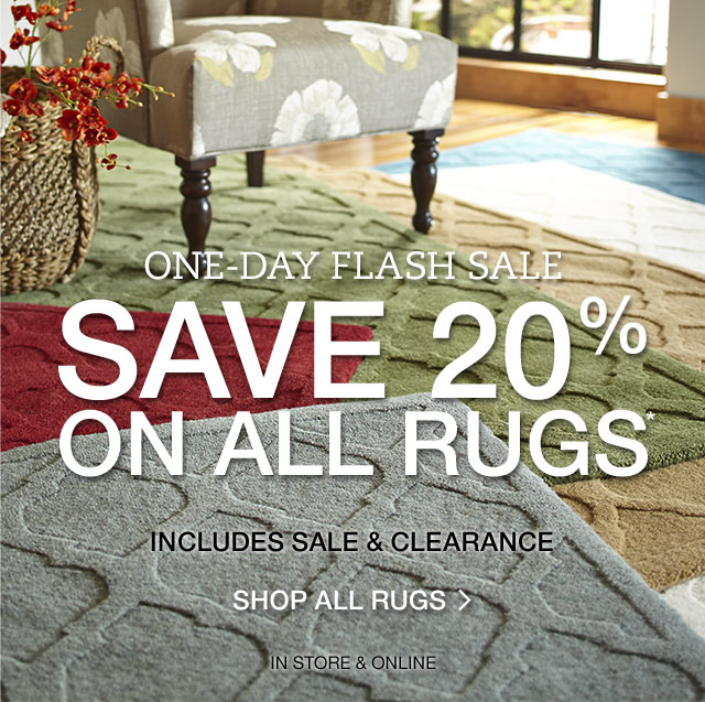 Pier 1 One Day Flash Save 20 On