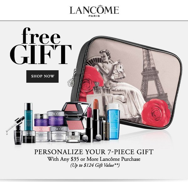 Bergners: Lancôme Paris • FREE 7-pc. gift with $35 purchase! | Milled
