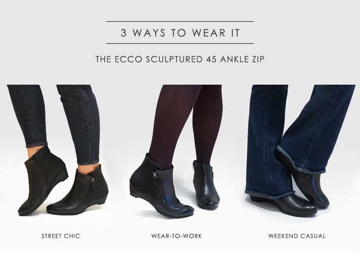 ECCO Sculptured 45 Buckle Boot P42O8jyNwp