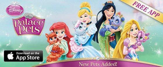 Princess Palace Pets App