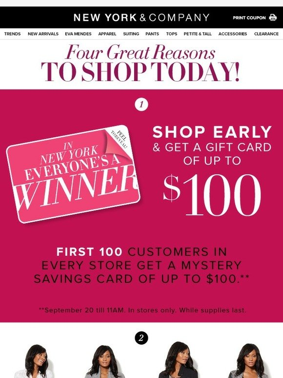 New York & Company: $100 Mystery Cards + 3 other great ways to ...