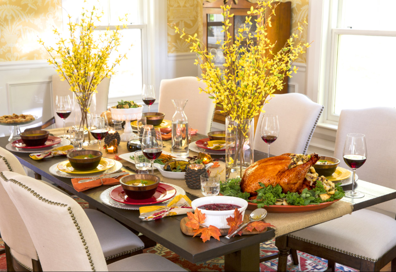 Hosting for the Holidays: Dining Room
