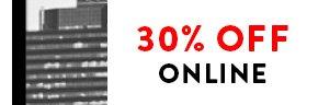 30% Off Online