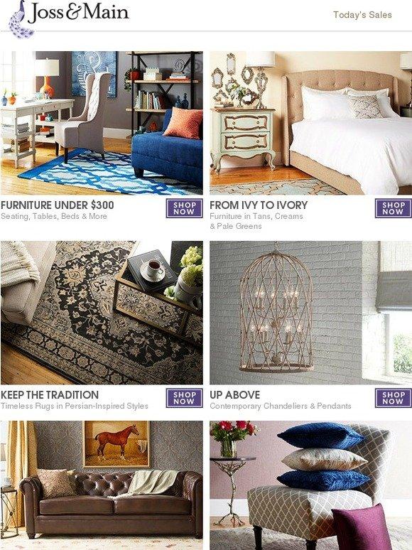 Joss & Main Furniture under $300