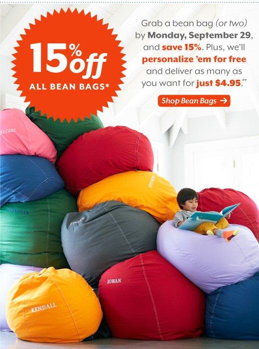the land of nod the biggest bean bag sale on the block milled. Black Bedroom Furniture Sets. Home Design Ideas