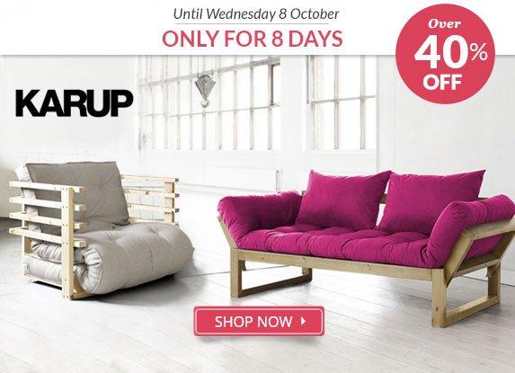Karup, Over 40% Off