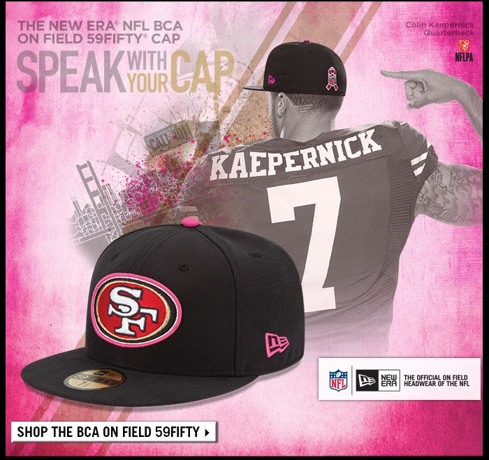223e077ebfed5 New Era  Official NFL Breast Cancer Awareness Caps Now Available ...
