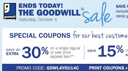 Younkers Goodwill Sale Coupon Code