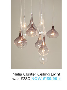 Bhs the future is bright milled melia cluster ceiling light aloadofball Gallery