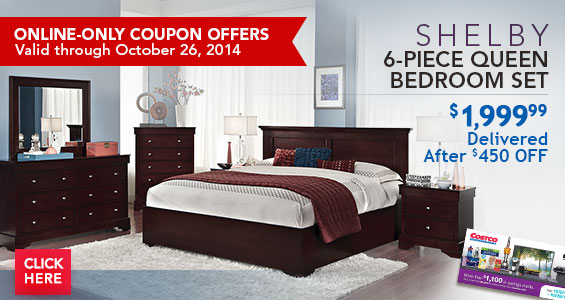 Costo: Save on Shelby 6-Piece Queen Bedroom Set, Samsung Galaxy S 5 ...