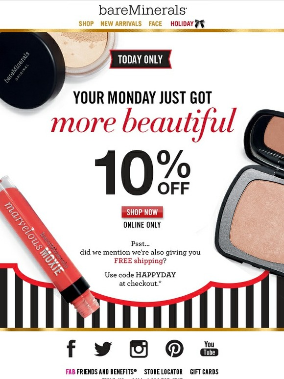 Bareminerals coupon code