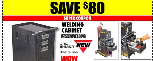 harbor freight huge savings on welding gear accessories plus save up to 66 with super. Black Bedroom Furniture Sets. Home Design Ideas