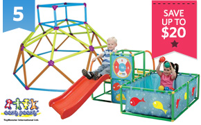 Eezy Peezy Monkey Bar Or Playpen With Ballpit ...