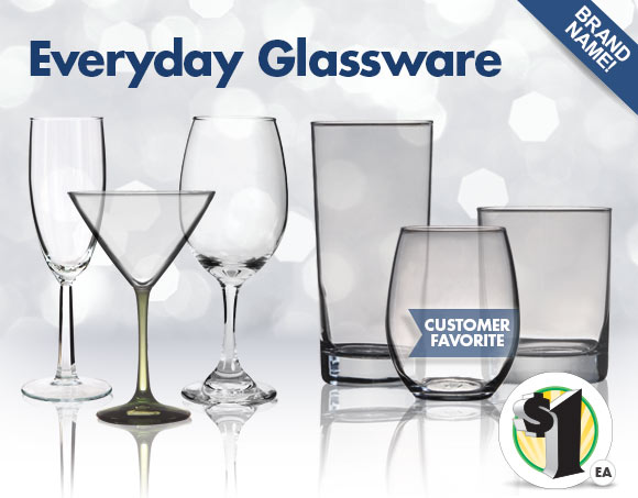 dollar tree stock up 1 brand name glassware more milled