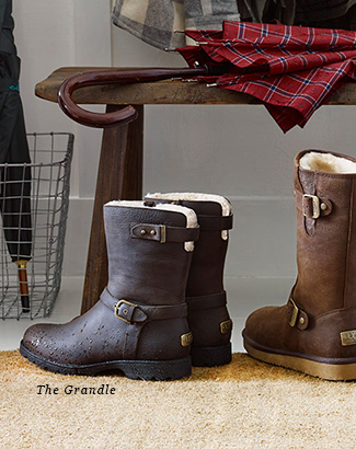 7aed4182853 UGG Australia: Introducing new water-resistant classic boots   Milled