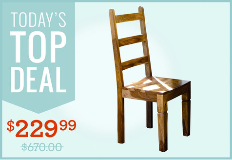 Solid-Wood Side Chair